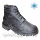 Ботинки рабочие утепленные клеепрошивные юфть-кирза