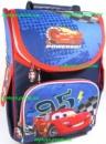 Рюкзак каркасный ортопедический школьный для мальчика Тачки 95, Молния Маквин + Подарок