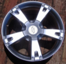 17 7,5 5x114,3 ET35 DIA 67,10 MIM CORTINA silver Диск Легкосплавный для Toyota Mazda KIA