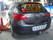 Тягово-сцепное устройство (фаркоп) Opel Astra J (hatchback) (2009-2015)