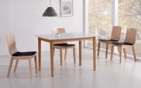 Стол со стеклянной столешницей «HOMER + K166»