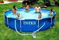 Каркасный бассейн INTEX 28210. Охладись в жару.