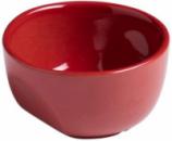 Кокотница керамическая Pyrex Curves Ø7см, красная