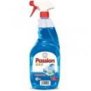 Спрей для мытья окон и зеркал Passion Gold 1 л голубой