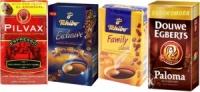 Кофе молотый с Европы Tchibo Exclusive, Tchibo Family, Paloma, Bravos, Pilvax