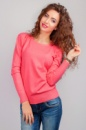 Свитер женский тонкий, джемпер трикотажный AG-0002775 Розовый