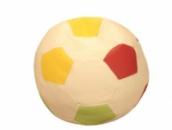 Разноцветное кресло-мяч из кожзама