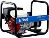 Генератор бензиновый SDMO HX 4000 S 4кВт однофазный