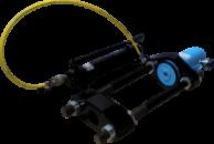 Выпрессовщик шкворней (шкворнедав) гидравлический