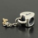Шарм замок ключ от моего сердца серебра 925