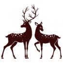 Интерьерная Наклейка Deer