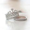Кольцо Корона двойное