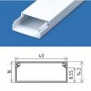 Кабельний канал 40х16 (80 м.п./уп) пластиковый с крышкой