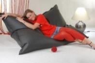 Кресло-мешок подушка 120*140 см из микро-рогожки