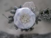 обруч новогодний снежинка с шишкой