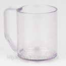 Чашка прозрачная