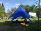 Палатка Звезда-8m, Палатка для отдыха и мероприятий.