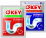 Засоби для прочистки стічних труб O'KEY