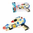 Пистолет ZYА-А 022 В-6 (120) свет, русское озвучивание, кулек