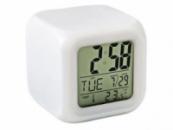 Часы хамелеон UCK с термометром, будильником и подсветкой