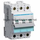 Автоматический выключатель Hager 3P 10kA D-04A 3M