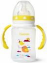 Бутылочка детская для кормления Fissman Babies «Птички в облаках» 240мл с ручками