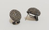 Серьги-гвоздики с цирконием арт: Т 727