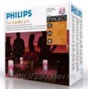 Свечи Philips imageo Candles красные 3шт