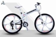 Элитный Велосипед HUMMER White на литых дисках