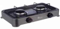 Настольный газовый таганок плита Domotec MS 6662 на 2 конфорки