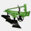 Плуг 1L-225K лемешно навесной общего использования, глубина обработки регулируется колесом до 25см