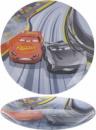 Тарелка десертная Luminarc Disney Cars-ІІІ Ø20см стеклянная