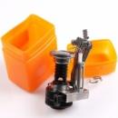 Портативная переносная газовая горелка в оранжевой коробке