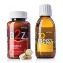 A2Z Chewable™+IQ Mega/ Комплекс: Жевательные витамины «От А до Я» и БАД Айкью Мега