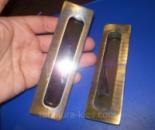 Внутренние ручки на раздвижную дверь бронза