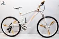 Элитный Велосипед LAMBORGHINI Q3 White на литых дисках