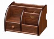 Подставка органайзер для канцелярии Деревянная Тумба