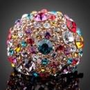 Женское кольцо с кристалами