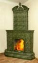 Камин открытого типа - Береза (угловой, прямой)