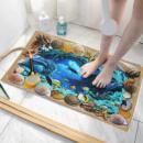 Клеёнка-Коврик 3D в ванную комнату+подарок