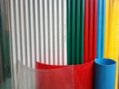 Шифер стеклопластиковый «Элипласт» 1,5 х10 м (зелёный)