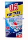 WC Таблетки для чистки унитаза W5 (16 шт) Океан