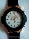 Модные кварцевые мужские часы HUBLOT