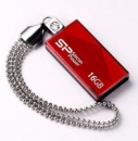 Флешка USB SILICON POWER Touch 810 16Гб, красный