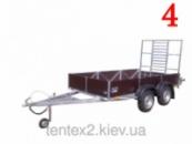 Прицеп купить 2-х осный «Палыч». Длина прицепа 2,5м х 1,5м, по Украине