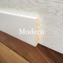Плінтус білий дерев'яний Modern 8 см (16*80мм)