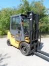 Купить вилочный погрузчик б/у CAT DP25 дизельный погрузчик в Украине продам
