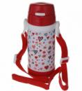 Детский термос с трубочкой А Плюс 1776 320 мл Красный (AP1101)