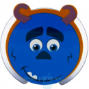 Портативная колонка HX-208 зубастик синяя