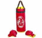 Детский боксерский набор (перчатки+мешок) FULL CONTACT 4675-R красный
